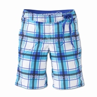 Brunotti beachshort Gebber girls in blauw