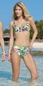 Sunflair Bikini met beugel 21307 in  D,E,F-cup
