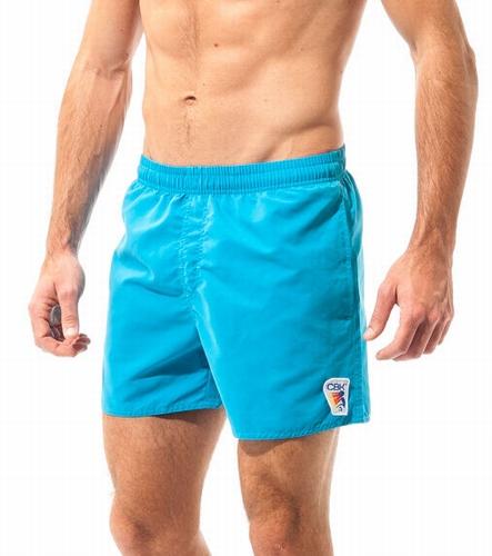 Zwemshort voor heren in effen kleuren