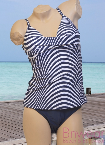 Manouxx Tankini met softcup 28556 in marine