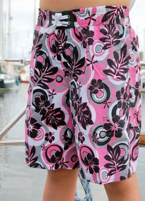 Zwemshort in vlotte print