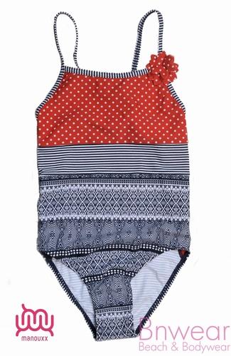 Manouxx kinder badpakje voor de modieuze meisjes