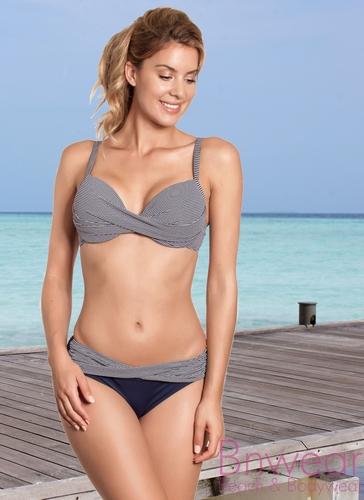Manouxx jaquard bikini voorgevormd