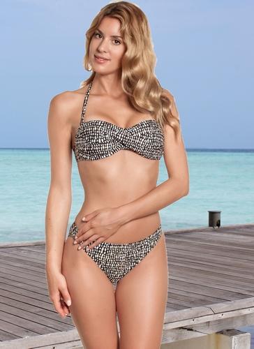 Bandeau bikini gold rush van manouxx 27721