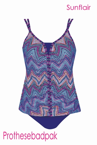 Prothese tankini sunflair in grote maten 78039