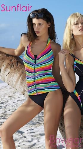 Tankini Sunny Stripes van Sunflair in 48E 78036