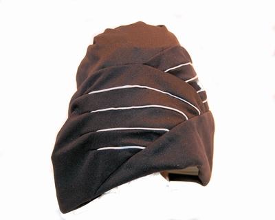 Badmuts van Beco in stof met rubberen binnenkant