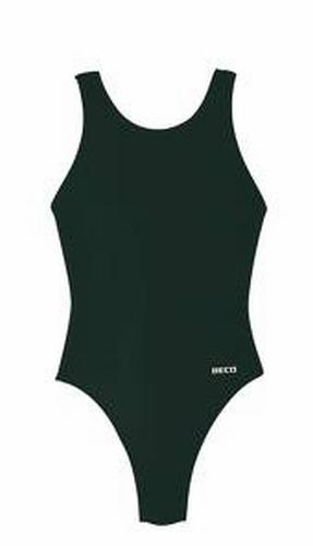 Sport badpak voor meisjes beco in zwart 5435