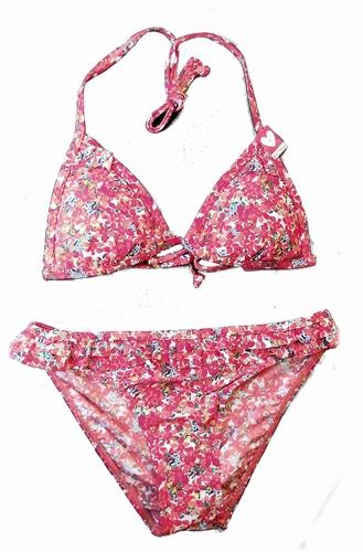 Boobs & Bloomer triangel bikini flower print
