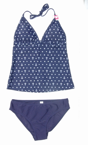 Boobs & Bloomers Tankini halter model serie Marine