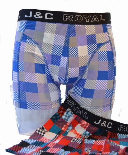 Heren boxershort in katoen.Two pack