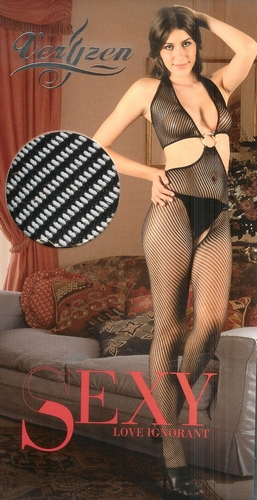 Lady body net-stocking. one size