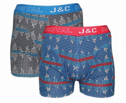 Heren boxer short in set van 2 stuks