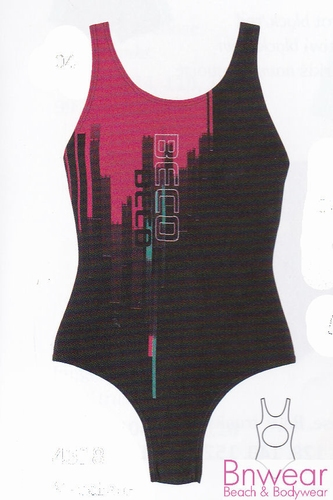 Sportbadpak voor meisjes met cross-back 4618