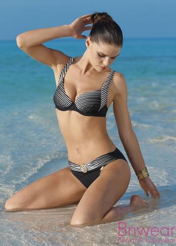 Sunflair Black & Gold bikini met softcups 21269