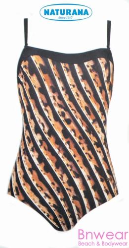 Bandeau strapless badpak van naturana 73025