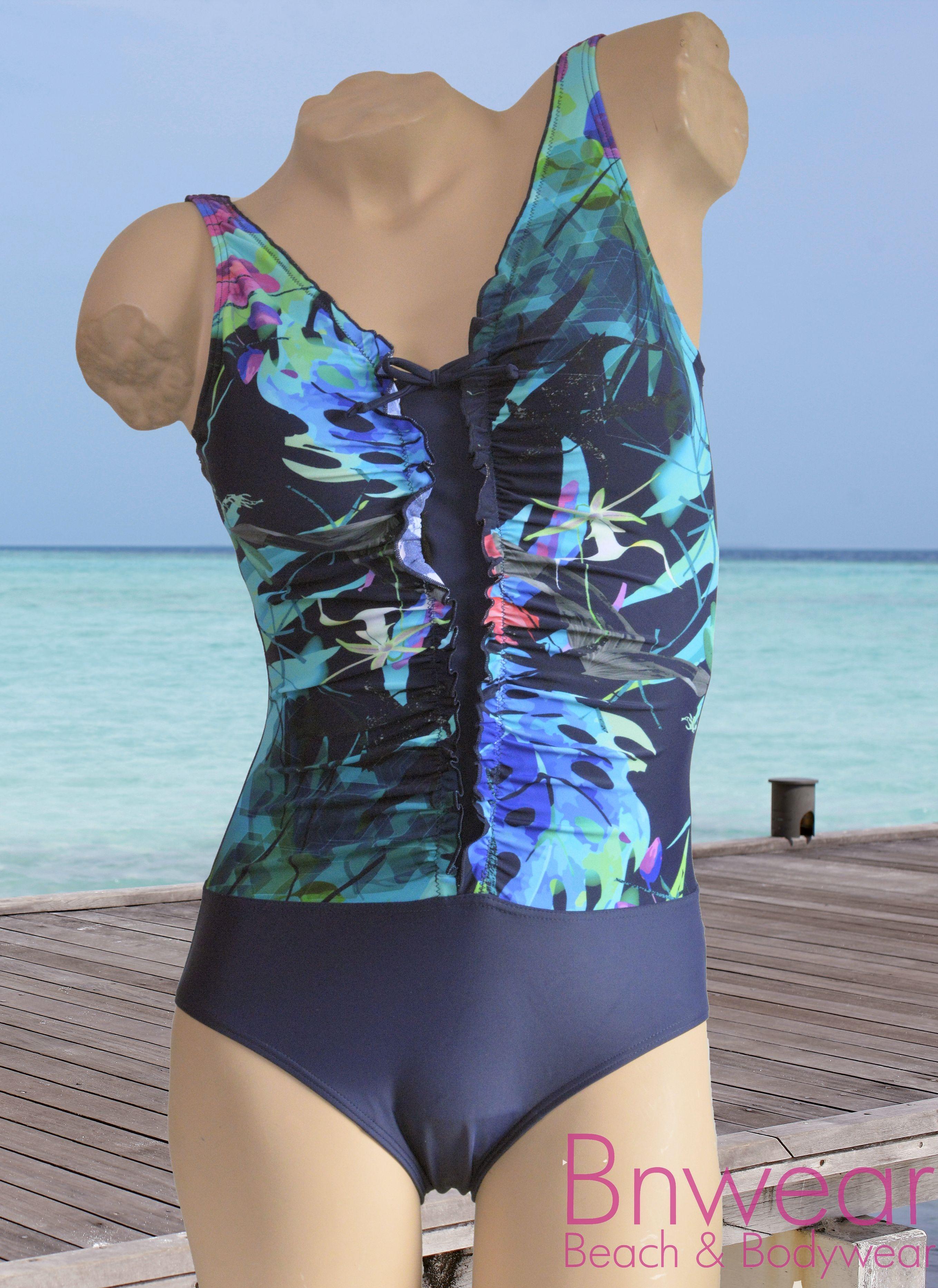 Badpak Bnwear gevoerd met front support