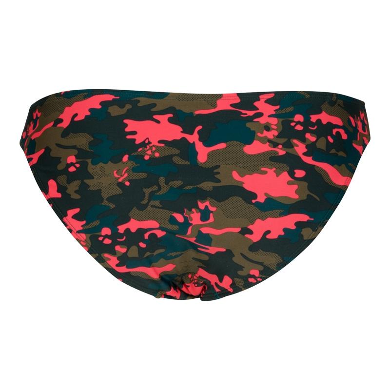 Lingadore Push-up gel bikini top in army print