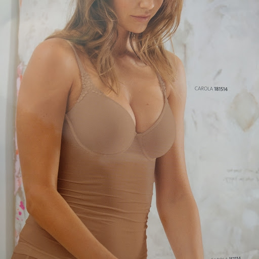 Push-up BH Carola van Viania 181450 in toffee