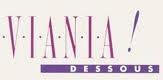 T-shirt  bh van Viania in roze met flex-cup